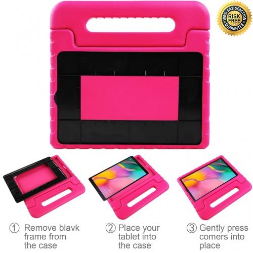 Indexbild 9 - BelleStyle Case for Samsung Galaxy Tab A 10.1, pink